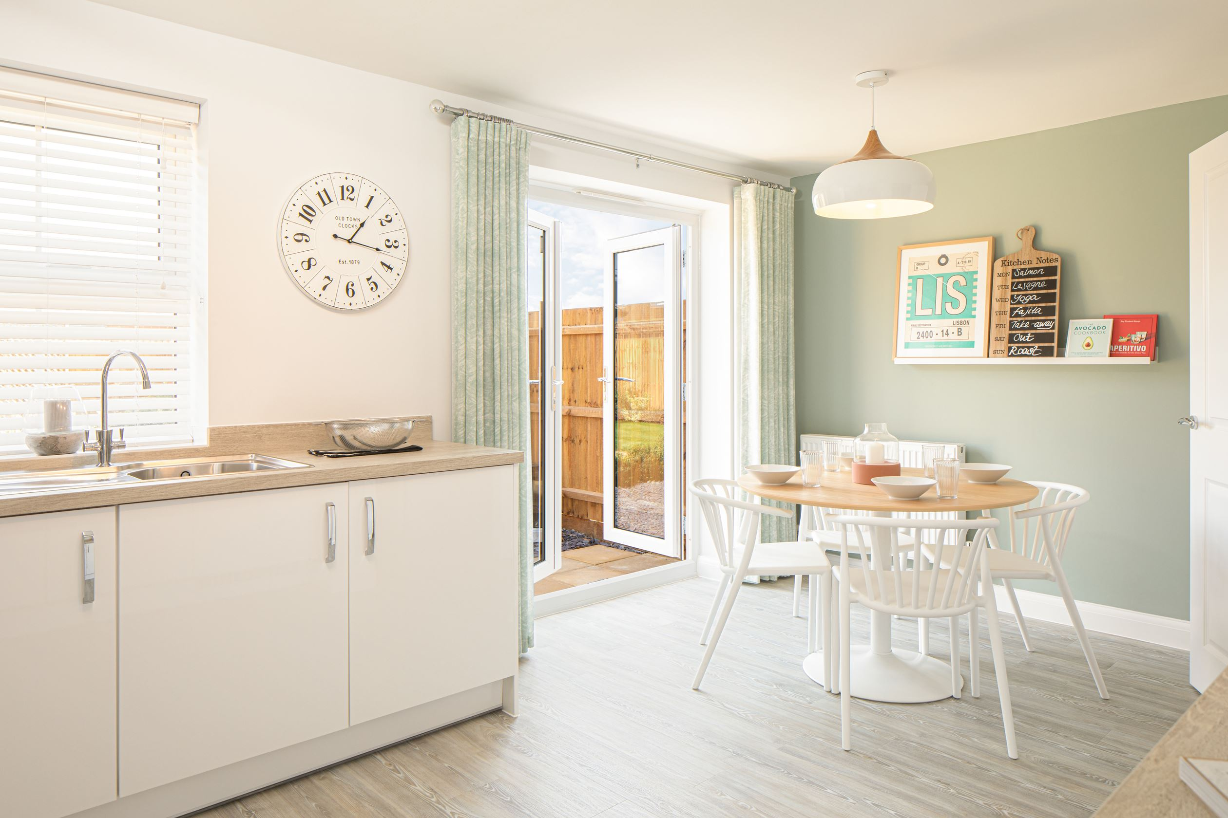 The Archford Plot 2 - Kitchen/dining area