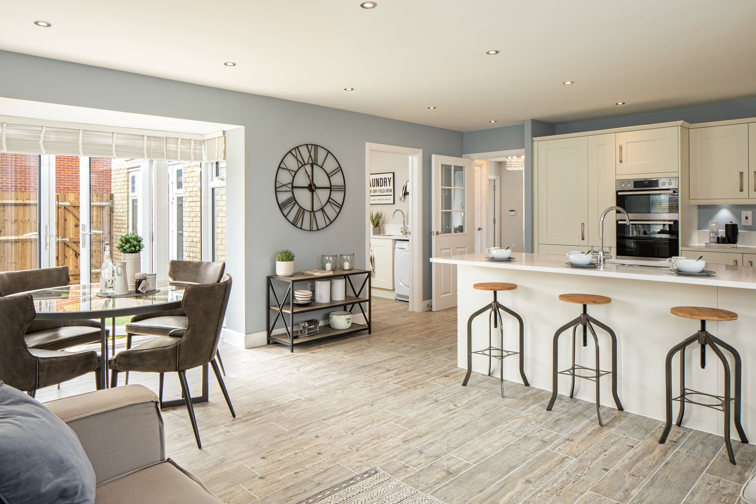 Corinthian Place Henley Kitchen with French Doors