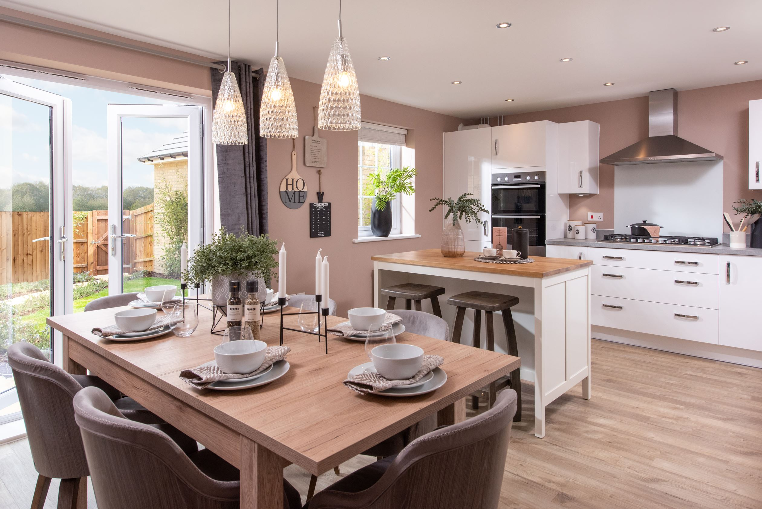 Marham Park Bayswater Kitchen with dining area