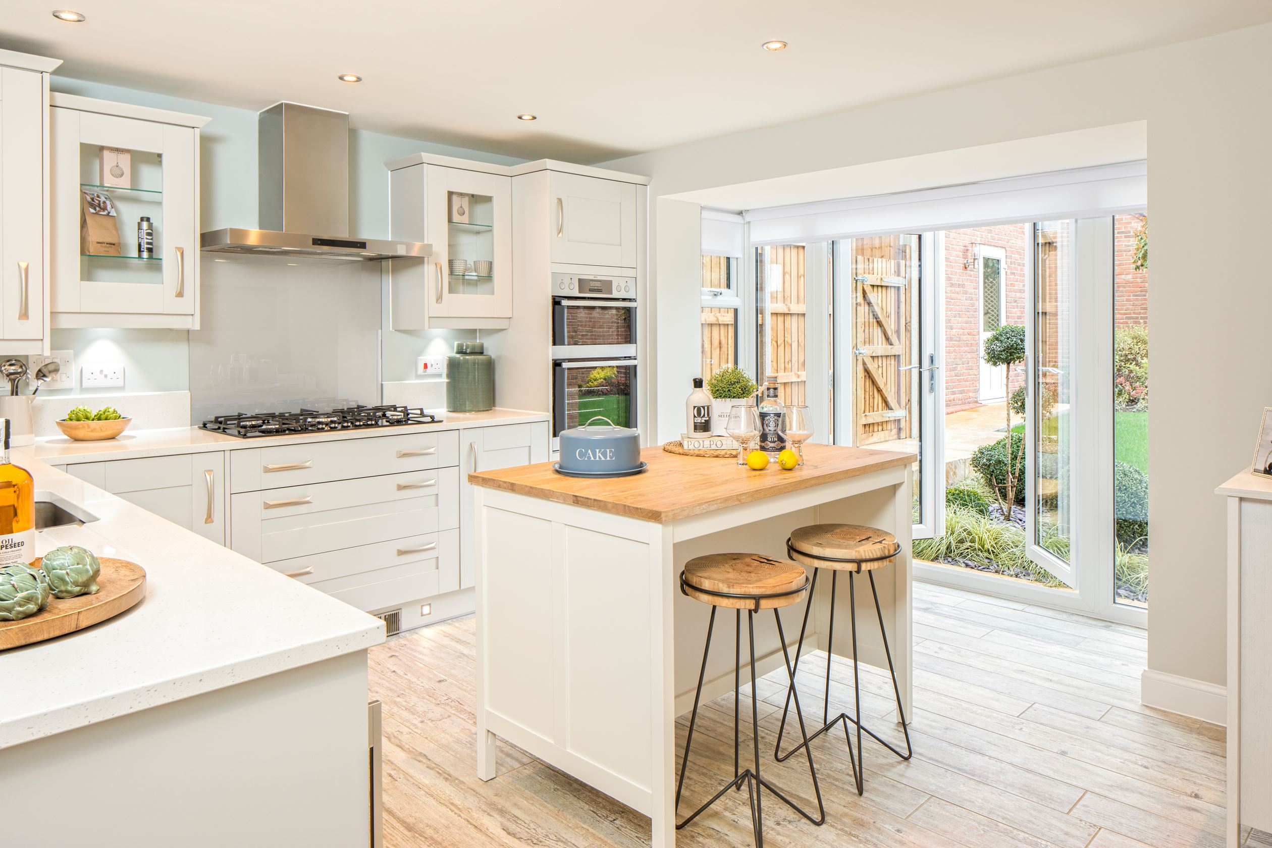 The Layton Kitchen with French Doors