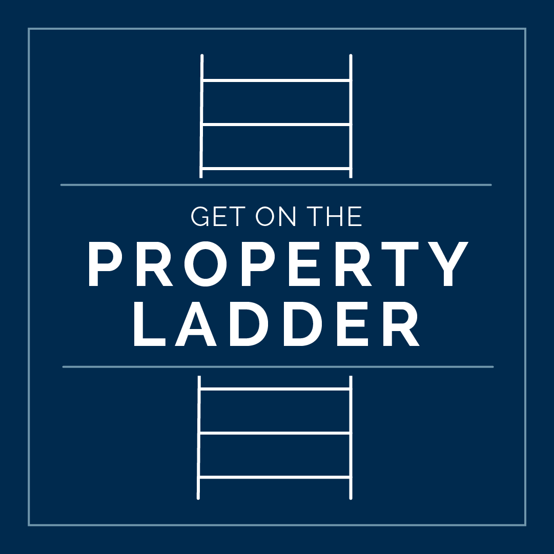 Get on the property ladder info graphic
