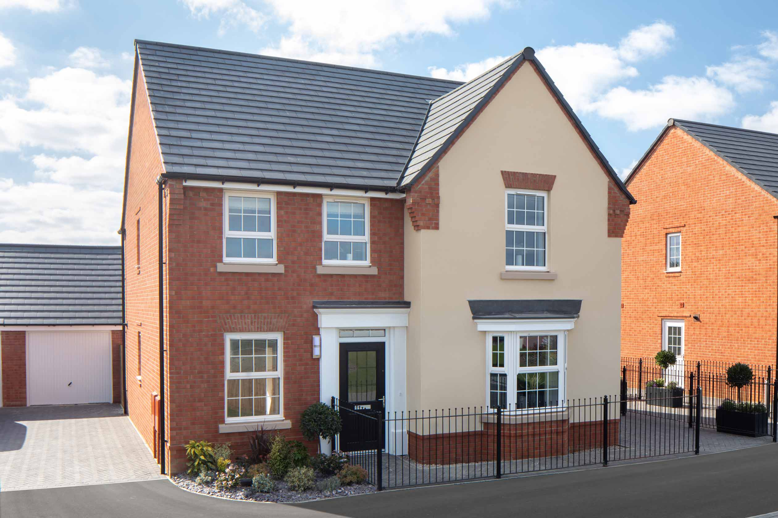 David Wilson Homes, Clipstone Park, Holden Showhome external