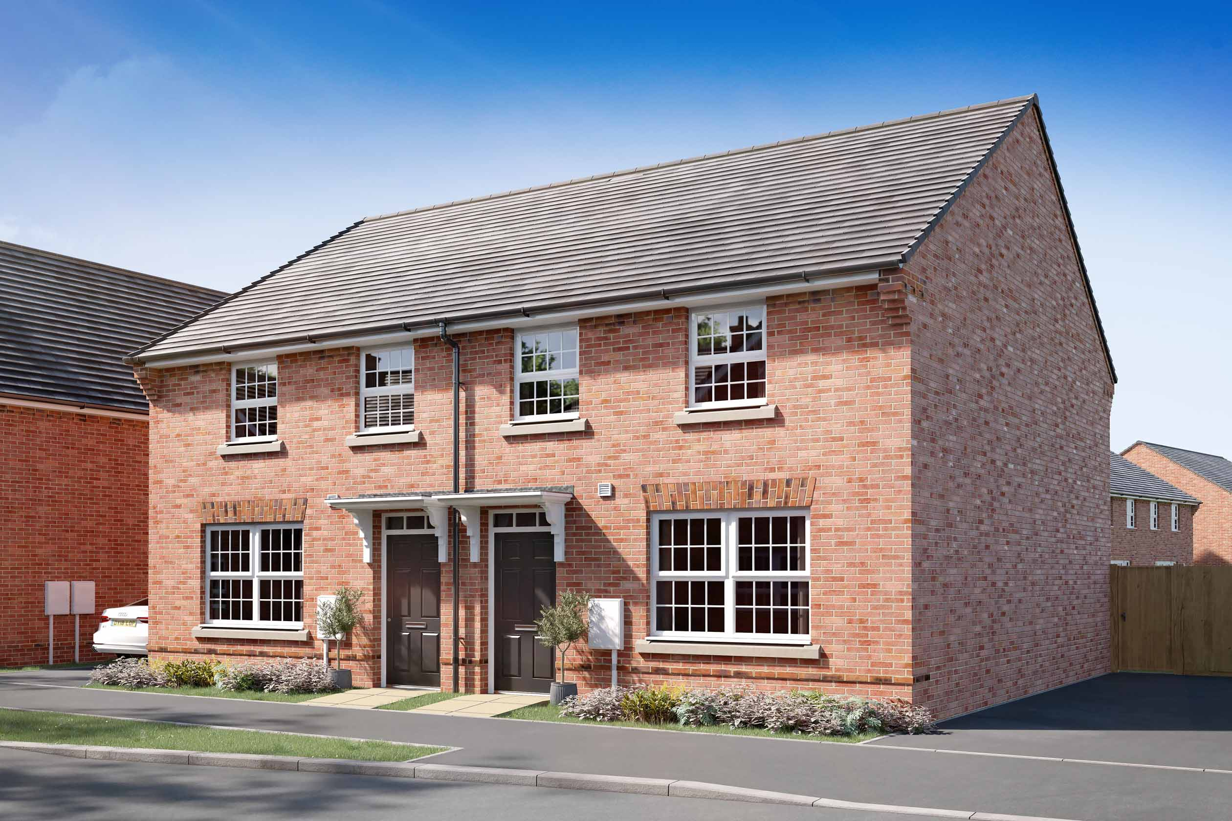 Archford Red brick DWH Clipstone Phase 2, h799401