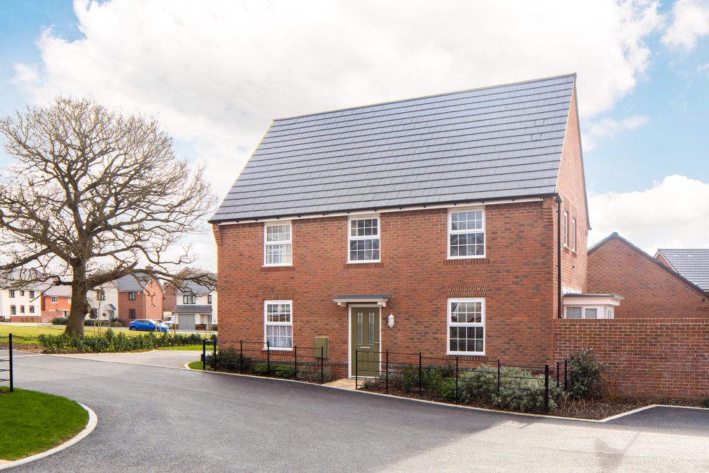 DWH SW Great Oldbury, Stonehouse 4 bedroom detached home external shot