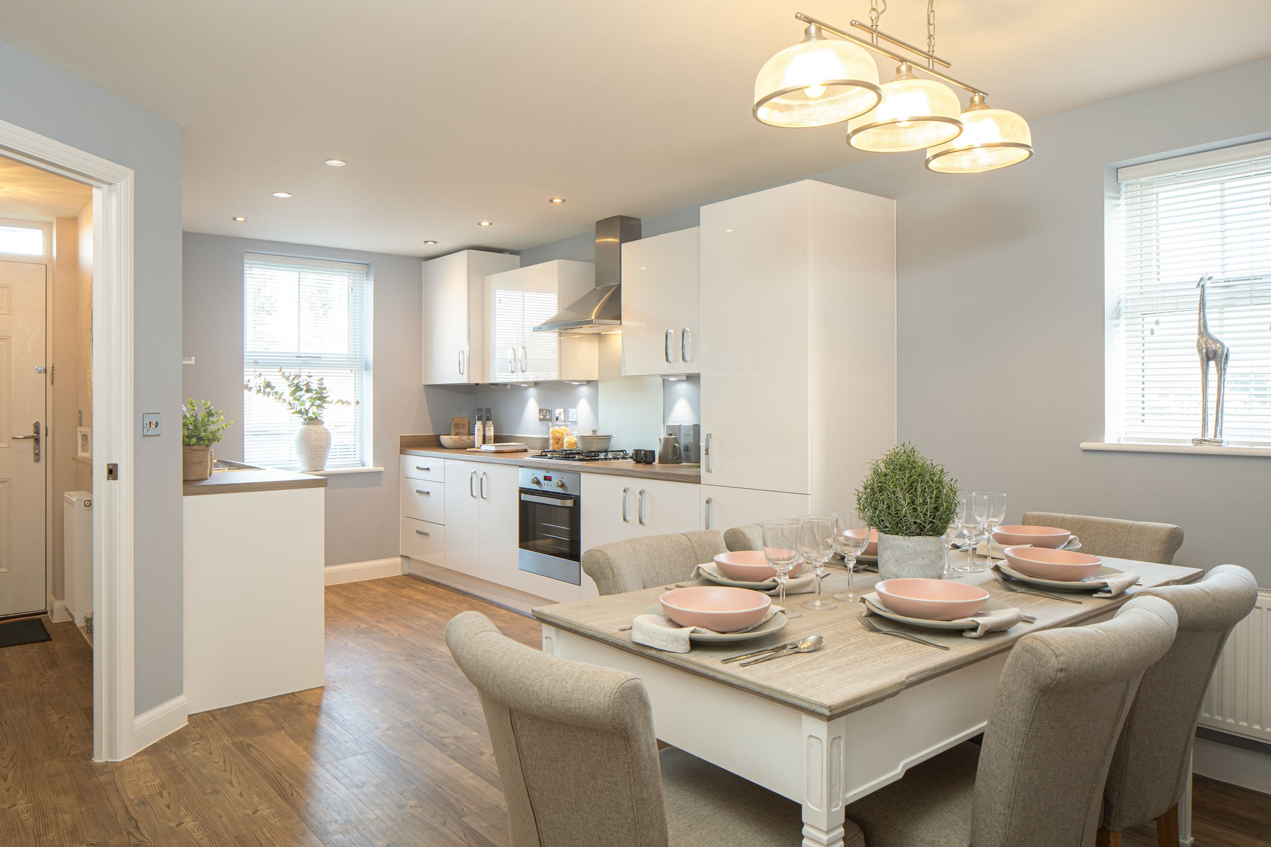 Ashurst show home dining room