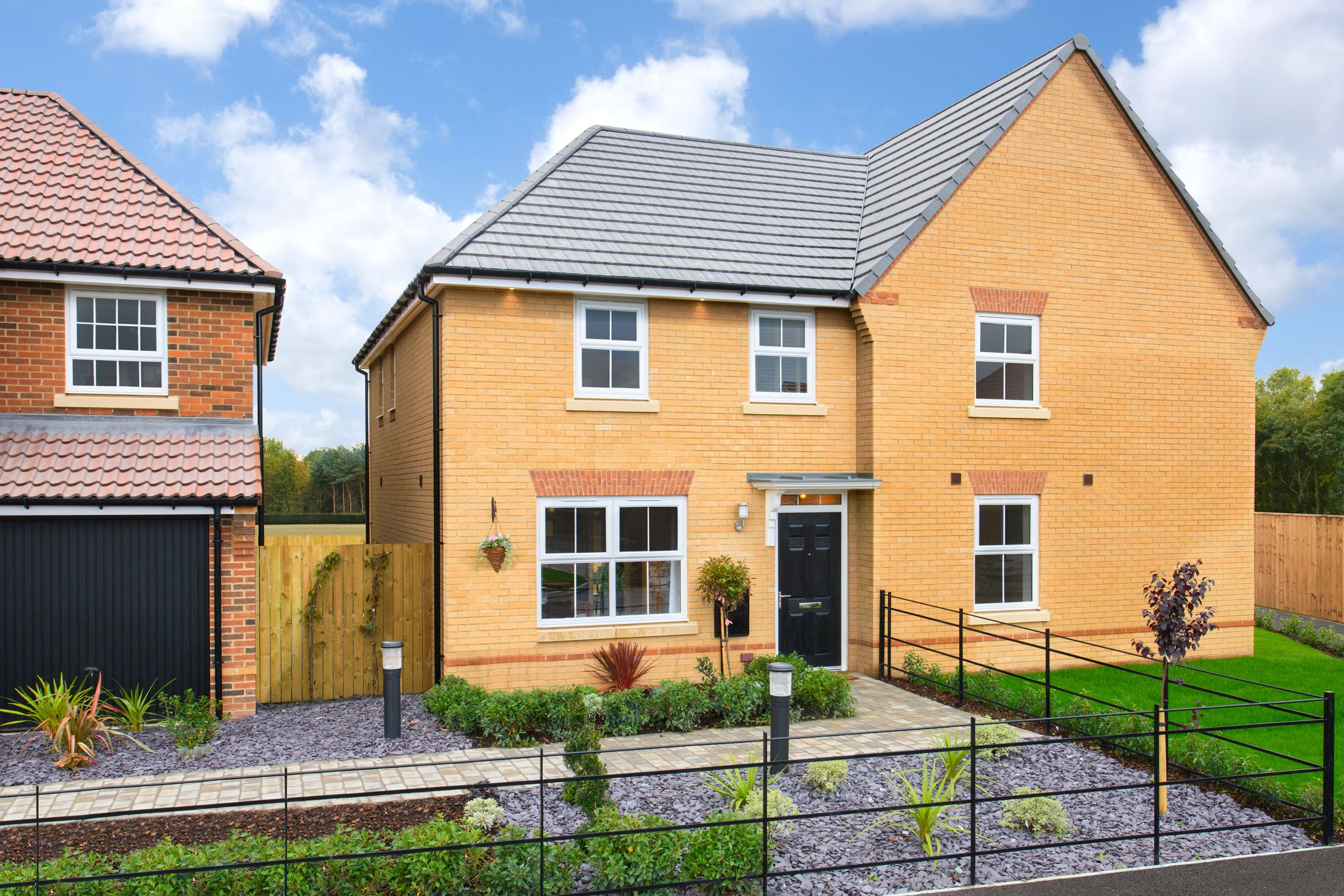 External of The Archford 3 bedroom Show Home at Hesslewood Park