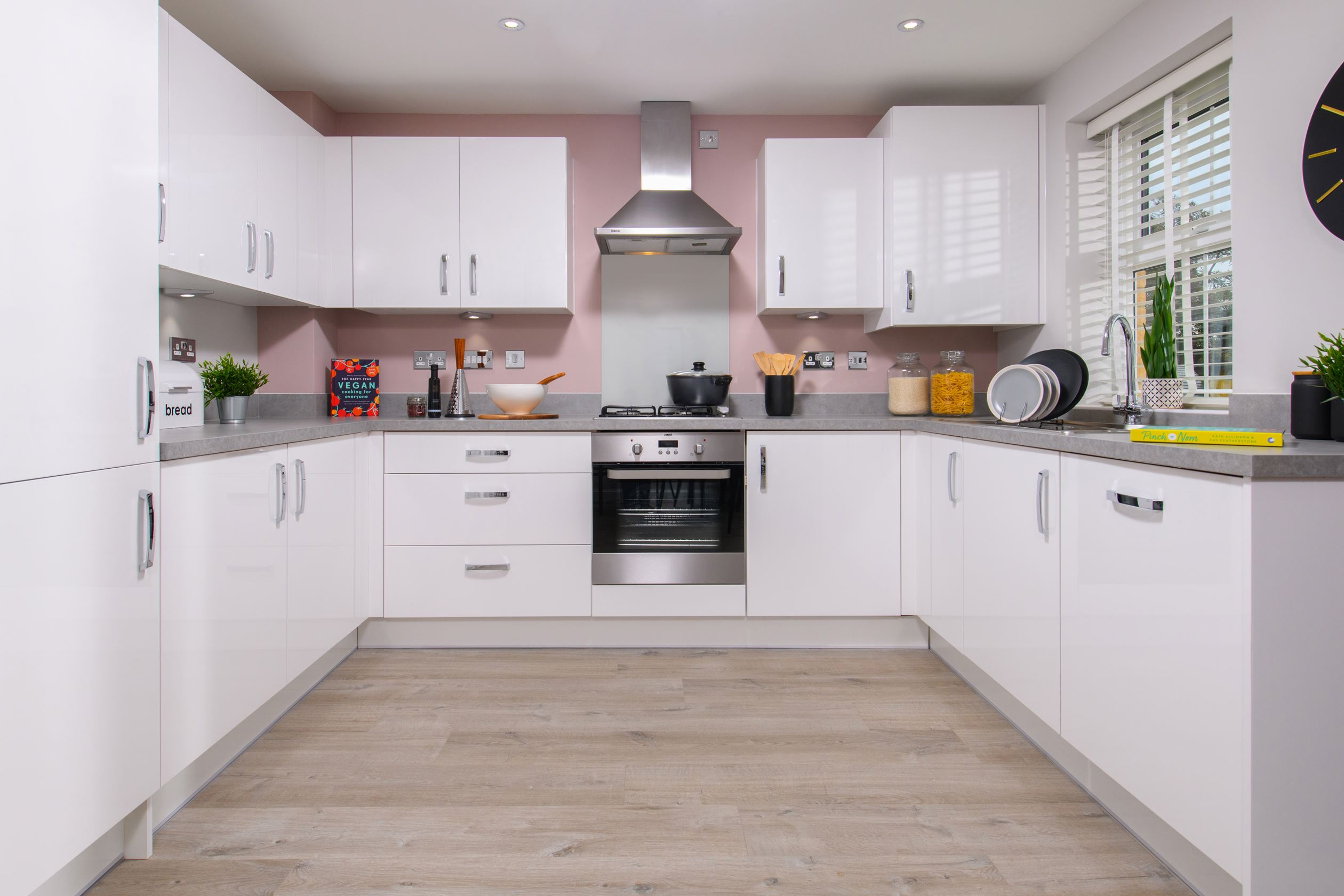 The Archford Show Home kitchen at Hesslewood Park
