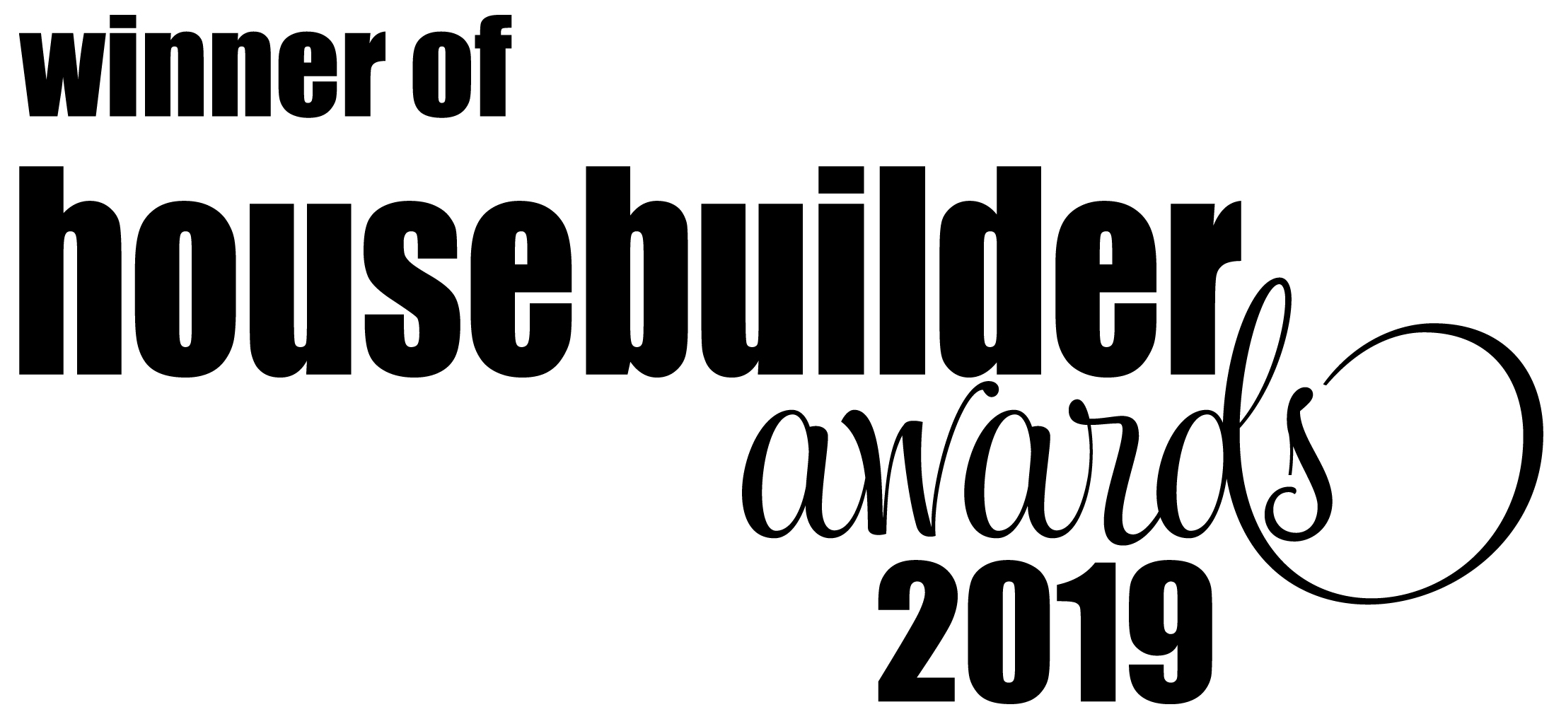 Large Housebuilder of the year 2019
